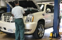 Working on Everyday Cars at Victor's Service Center